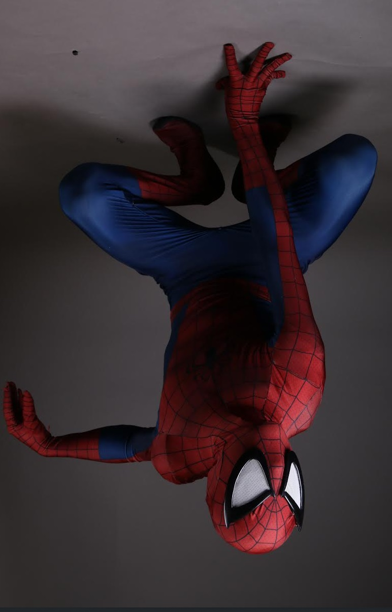 Hi my name is Brandon, ever since I was a child I loved Spider-Man. So just a little over a year ago I started cosplaying as Spidey. Within the span of last year I had started cosplaying with the Marvelous Girls of KW Cosplay. Being able to go to cons more, I've met many other amazing cosplayers as well, adults and lots of kids. Cosplaying as Spidey has made a huge impact on my life, I even turned my ebike into a spider bike with a helmet, for getting around Guelph. Seeing kids and even adults just light up when seeing me run by makes me happy. Knowing that I can make someone's day just a little better is such an amazing feeling! I started doing birthday parties which has made me even more excited for being Spidey. Every time I put on the suit I'm ready to make at least one persons day better.